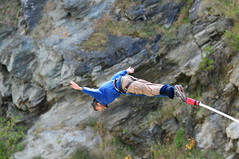 free solo climbing(0.0), mountaineering(0.0), rock climbing(0.0), sport climbing(0.0), abseiling(0.0), climbing(0.0), downhill(0.0), physical exercise(0.0), adventure(1.0), bungee jumping(1.0), sports(1.0), recreation(1.0), outdoor recreation(1.0), extreme sport(1.0), person(1.0),