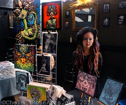 Dark Arts craft fair at The Lovecraft bar