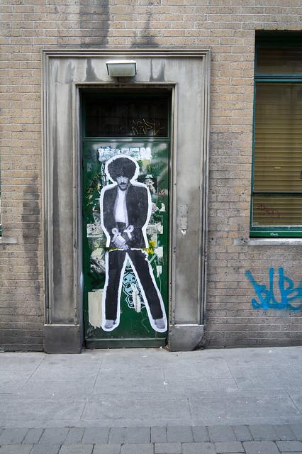 Dublin Street Art -  Phil Lynott