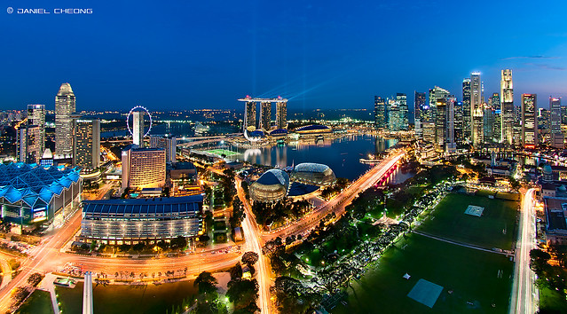 Electrifying Marina Bay!