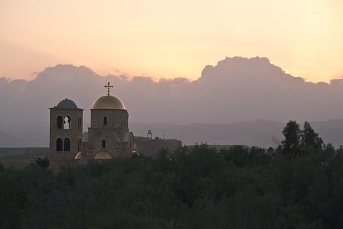 travel sunset canon river christ middleeast stjohn baptism jordan 5d christianity بيت الأردن عبر bethanybeyondthejordan عنيا pentaconm42135mmf28auto
