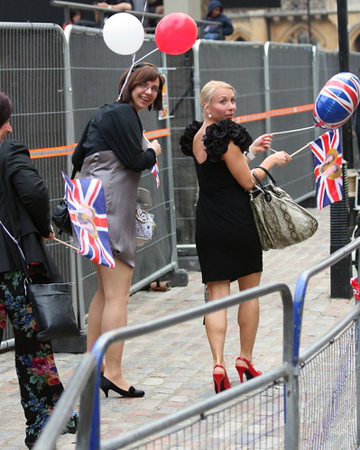 The Royal Wedding - Apr 2011 - Party Girls Candid