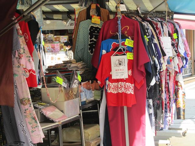 Kimonos and yukata