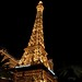 The Eiffel Tower  Las Vegas