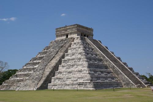 The great Maya temple