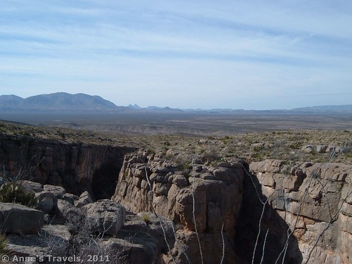 Views over the top of the Den, Big Bend National Park, Texas