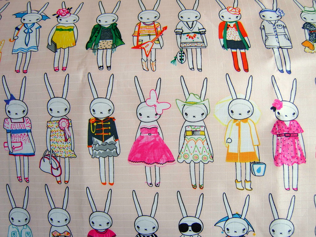 fifi lapin designer fabric