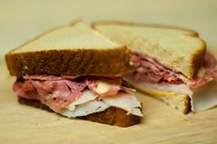 sandwich, meal, corned beef, breakfast, ham and cheese sandwich, muffuletta, meat, food, dish, cuisine, roast beef,