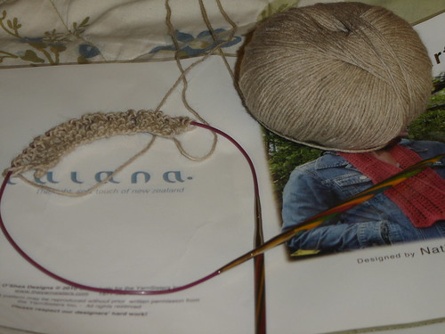 Kiwi Lace Scarf