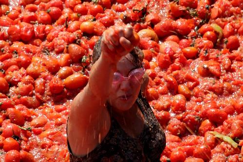 """Esmaguem os tomates!!"""