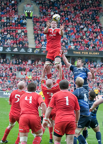 Donnacha Ryan's lineout copy