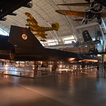 Steven F. Udvar-Hazy Center: SR-71 Blackbird aft-starboard view