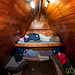 Inside a Hut at Mandara - Mt. Kilimanjaro, Tanzania