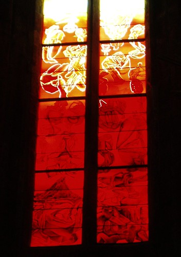 france window modern cathedral contemporary stainedglass vitrail aveyron rodez cathedraledenotredame stephanebelzere