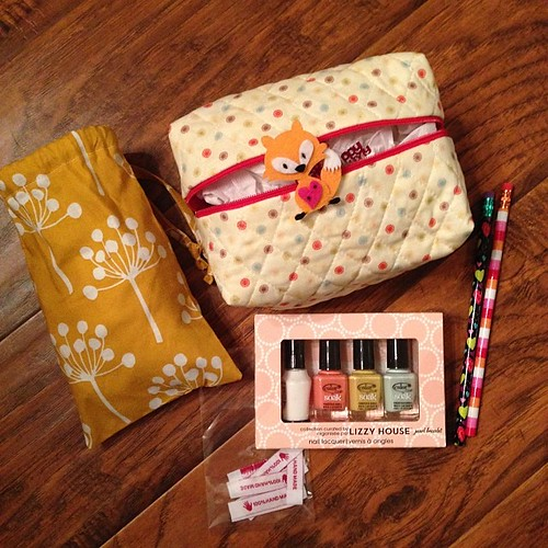 @whipstitchier Awesome!! The bags, the nail polish, the fox... I love it all. Thanks! #handmadebirthdayclub