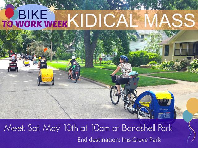 bike to work week km ride