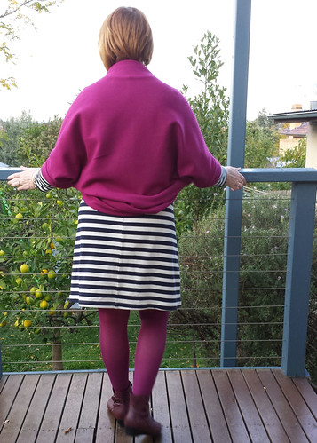 "Wool shrug - pattern 4 from ""May Me"" Japanese sewing book"