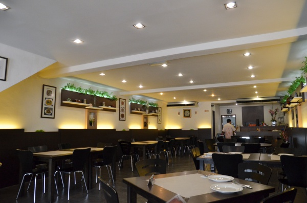 Interior of Amy Nyonya Cuisine