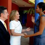Michelle Obama: Primeras damas en Liceo de Excelencia de Renca