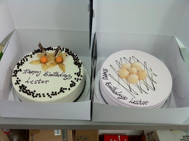 Birthday Cake Surprise From Li Xiang