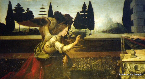 Leonardo: Annunciation by Anna Amnell