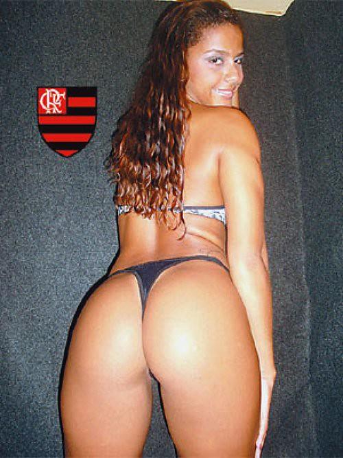 Amanda Souza - A Gata da Hora do Mengão. Foto: Site Meia Hora