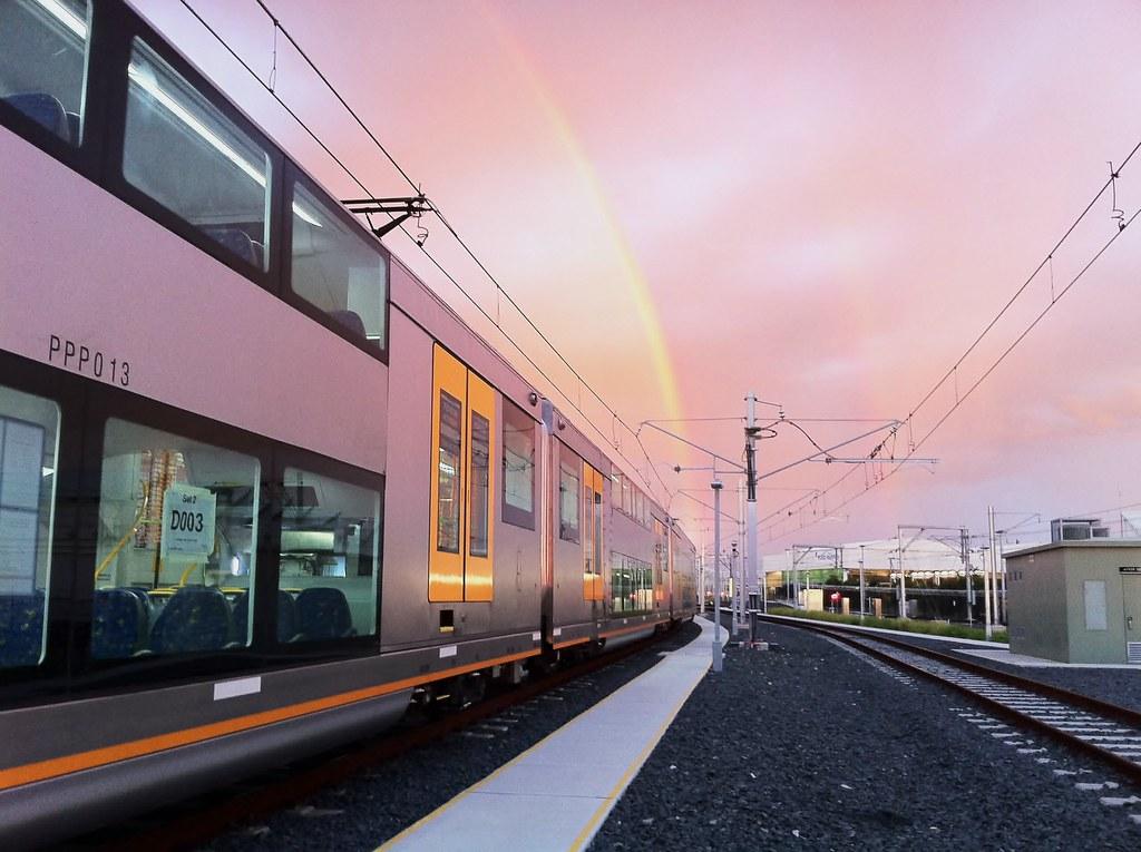 Cityrail's New Waratah train or A Set - A2
