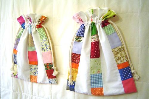 Taleigos / Drawstring bags