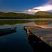 Sunset on Gros Morne mountain by Rick Gravelle
