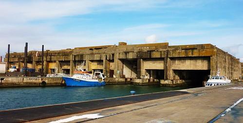 blockhaus base sous marine la pallice, la rochelle