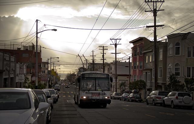 SF MUNI bus, 031811, Balboa Street