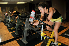 room, muscle, indoor cycling, physical fitness, physical exercise, gym,