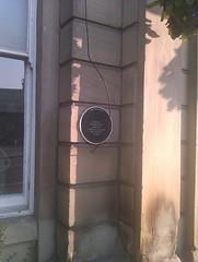Photo of Otley Mechanics' Institute black plaque
