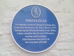 Photo of John Betjeman blue plaque