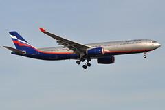 Aeroflot Russian Airlines - Airbus A330-300 - VQ-BCU - V. Mayakovsky - John F. Kennedy International Airport (JFK) - April 9, 2011 2 068 RT CRP