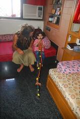 Marziya Plays the Digeridoo by firoze shakir photographerno1