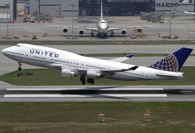 Boeing | 747-422 | United Airlines | N119UA | Hong Kong | HKG | VHHH