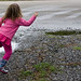 skipping rocks and puddles