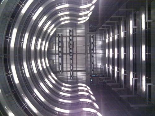 Si el metro de La Salutera impressionant, el de Llefià ja és de ciència-ficció!