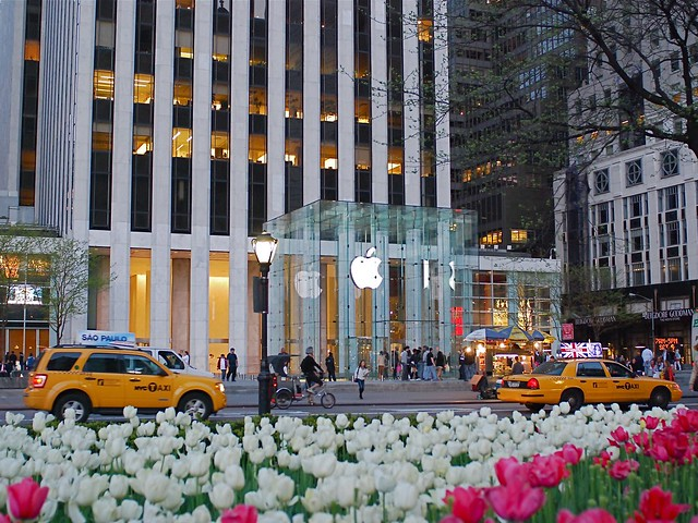 The Apple Store on Fifth Avenue, New York City