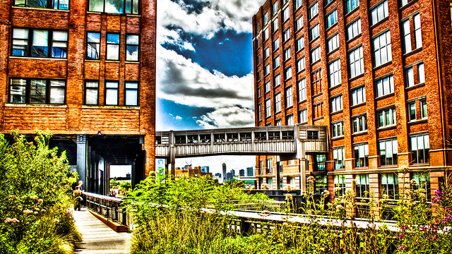 0212 - USA, New York, Highline HDR