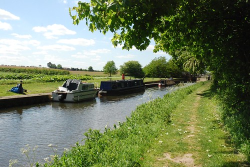Small Passenger Boats on Canal