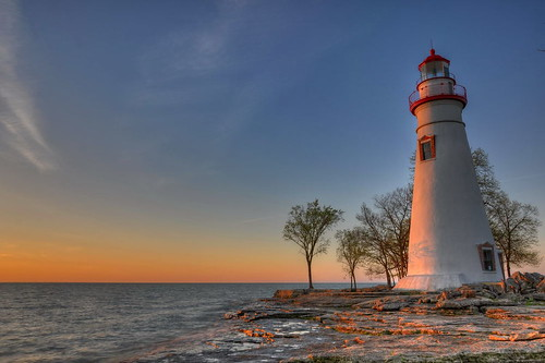 ohio seascape sunrise landscape nikon marblehead marbleheadlighthouse hdr photomatix tonemap marbleheadohio hdrsunrise nikond90 ohiolighthouse