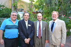 Mike Chionoupolos, Joe Simpson, j.Tom Smoot, and Agnew
