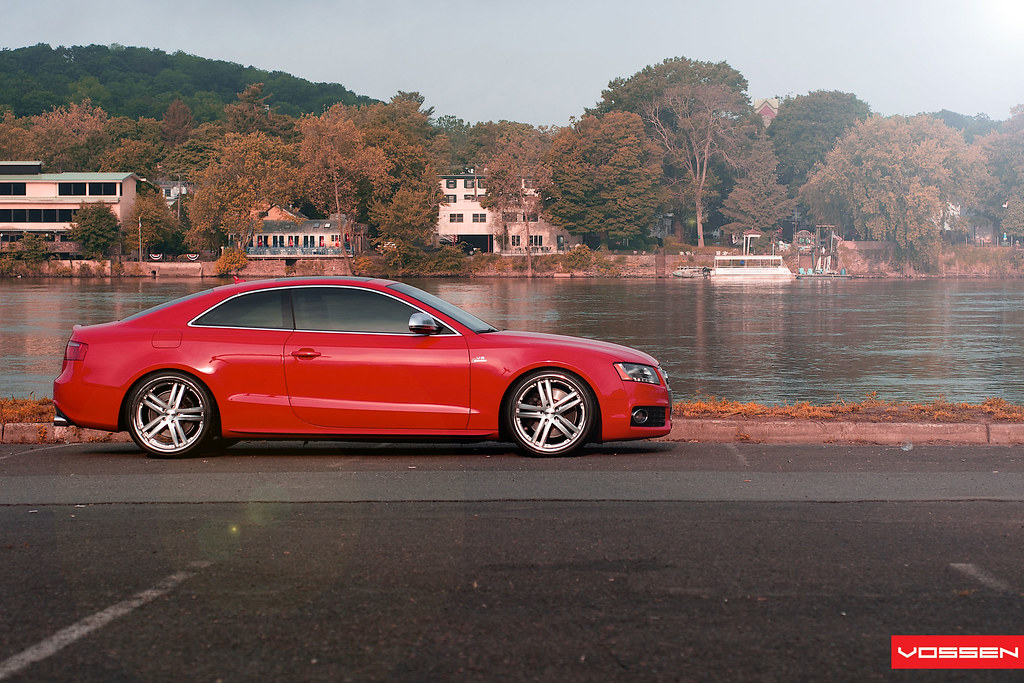 red s5 on vossen 85 39 s ftw audi a5 forum audi s5 forum. Black Bedroom Furniture Sets. Home Design Ideas