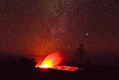 stars volcano hawaii nationalpark bigisland hawaiivolcanoesnationalpark kilauea halemaumau Astrometrydotnet:status=solved Astrometrydotnet:version=14400 Astrometrydotnet:id=alpha20110695871645