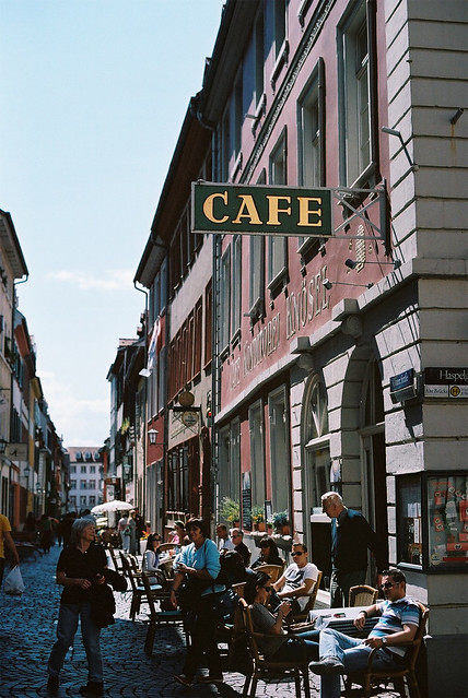 Cafe in Heidelberg