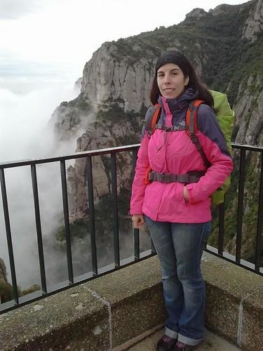Rox en su llegada a Montserrat