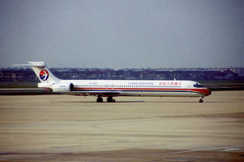 China Eastern Airlines MD-90-30; B-2262, October 1998/ BSS