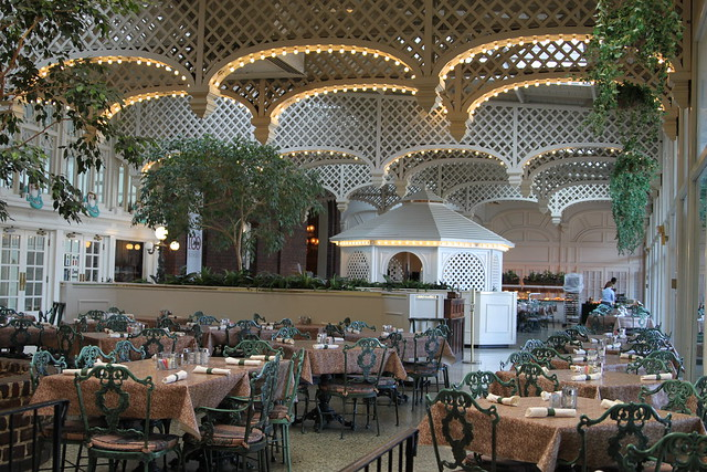 chattanooga choo choo dining room